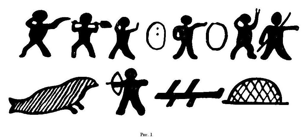 современные пиктограммы: