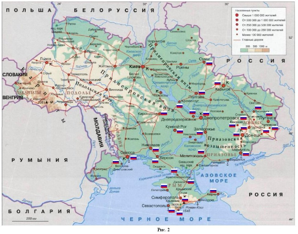 Подарки русских царей на карте 517